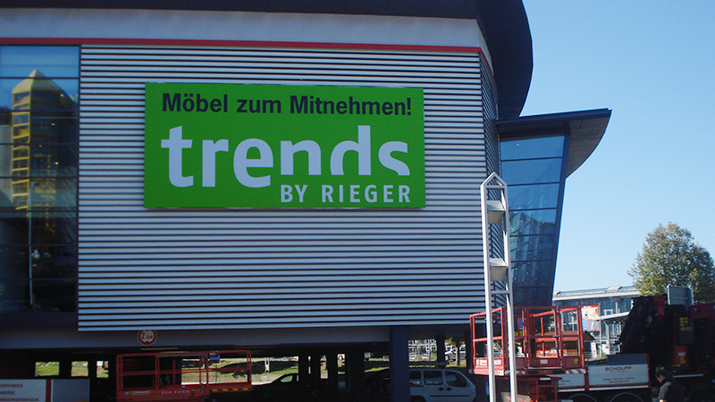 Möbel Rieger trends, Göppingen