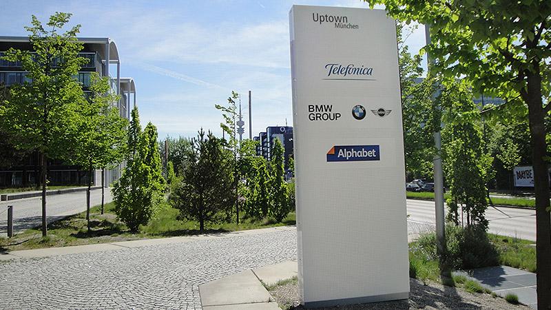 Telefonica + BMW, München