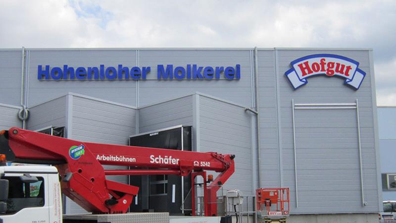 Hofgut Hohenloher Molkerei, Schwäbisch Hall